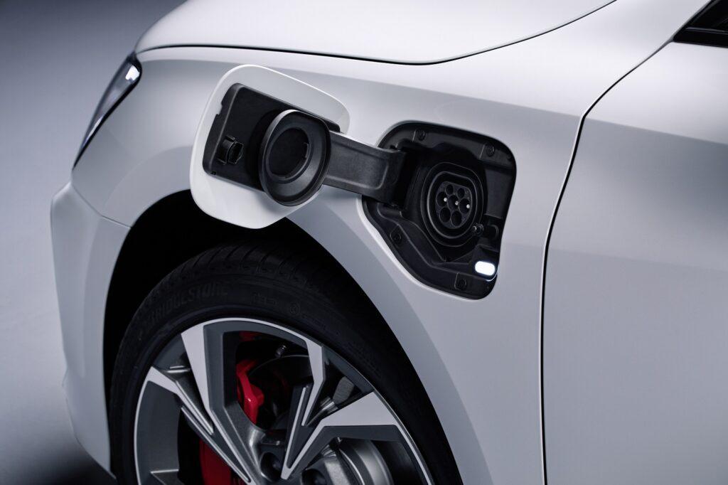 Ingresso Plug-in della nuova Audi A3