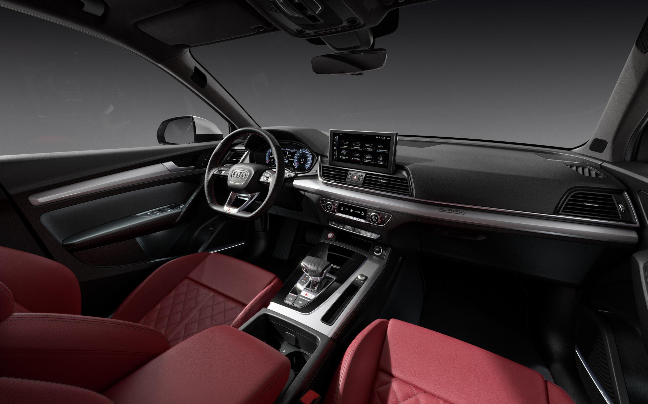 Gli interni della nuova Audi SQ5 2021