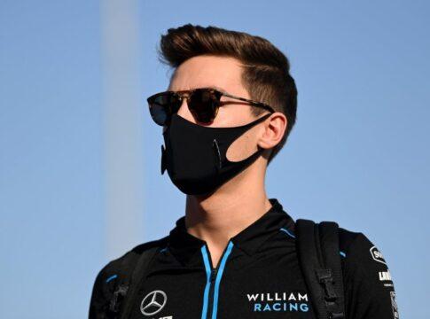 George Russell in Mercedes per il GP di Sakhir