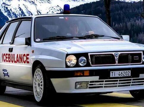 In Svizzera la Lancia Delta HF Integrale diventa un mezzo di soccorso. Ecco la IceBulance