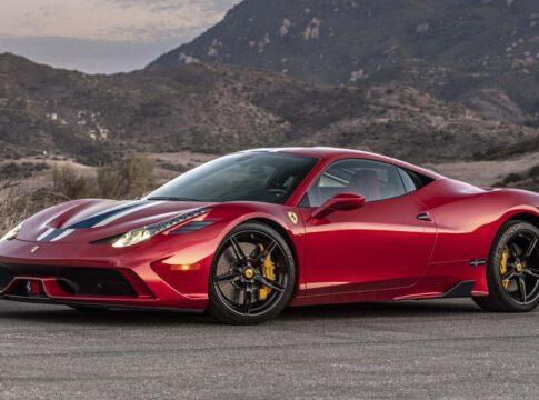 Ferrari 458 antiproiettile