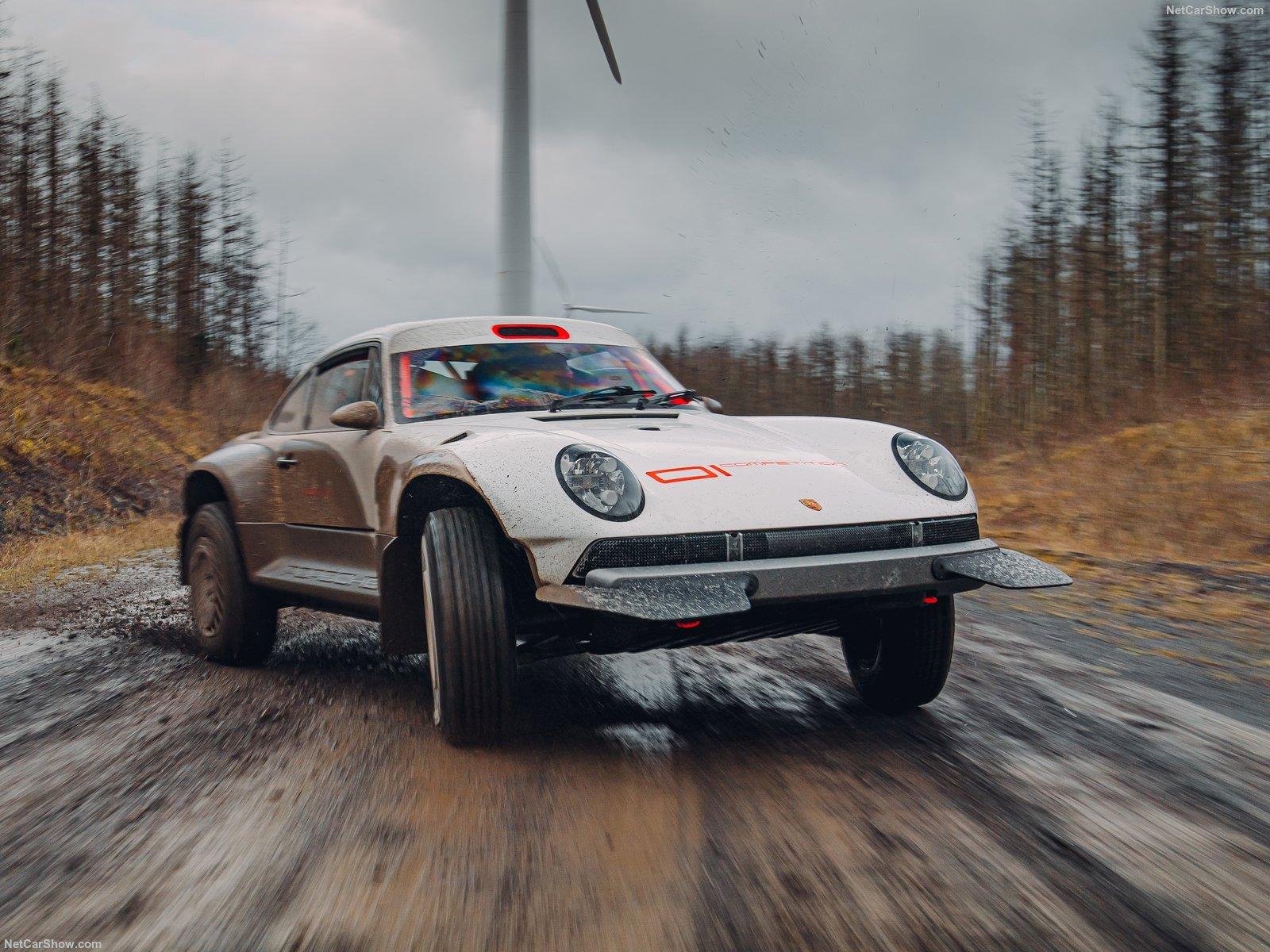 Porsche 911 ACS: l'elaborazione di Singer per l'off-road