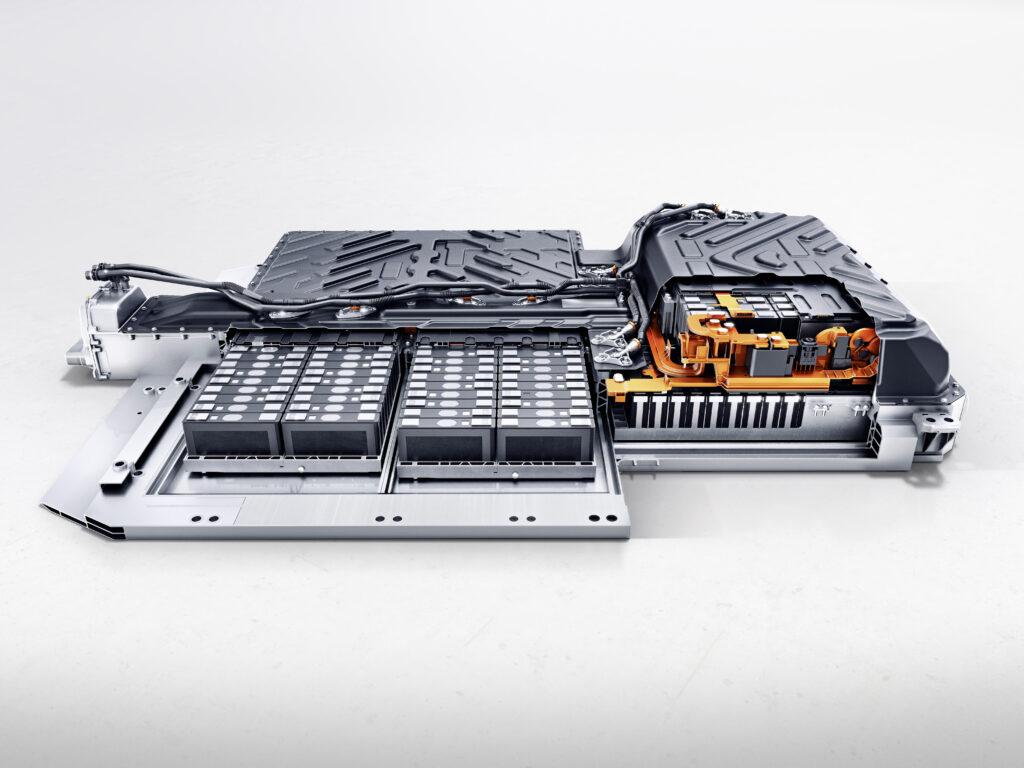 La batteria della Mercedes EQA