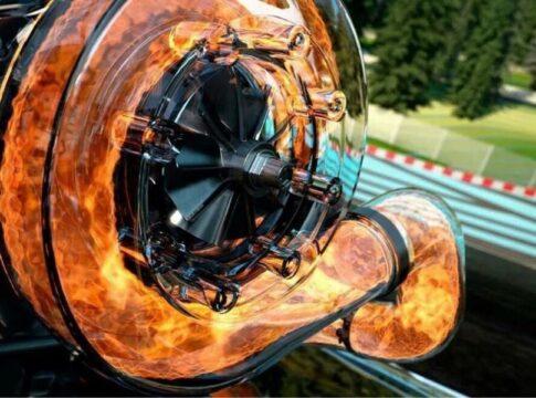 Superbike Yamaha 3 cilindri turbo