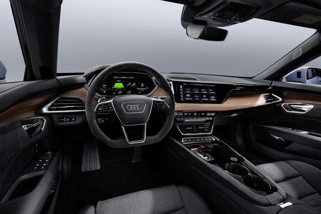 Nuova Audi e-tron GT interni