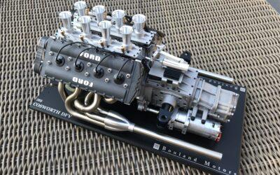 Un Cosworth V8 in miniatura, per portare i suoni della F1 in salotto