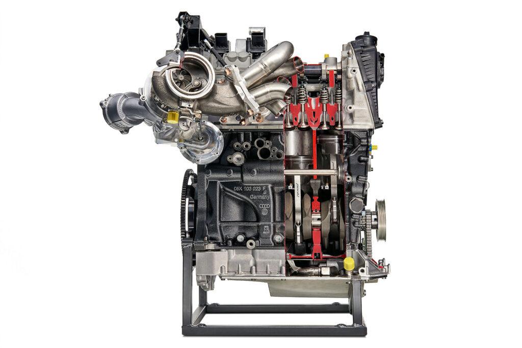 Motore Skoda Fabia R5 2017