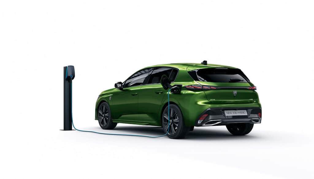 Nuova Peugeot 308 2021 Hybrid