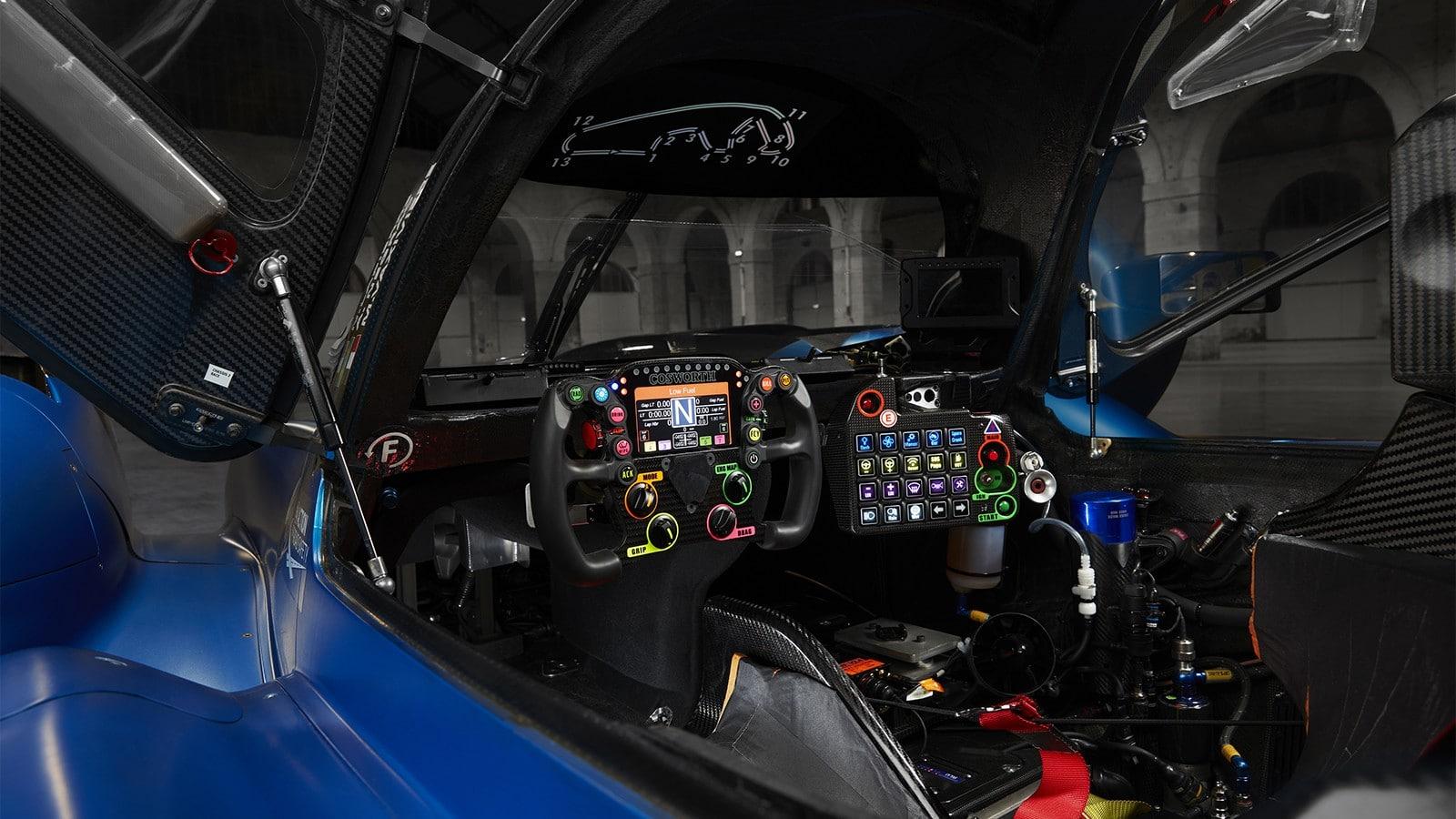 Gli interni dell'Alpine A480. Crediti: Alpine