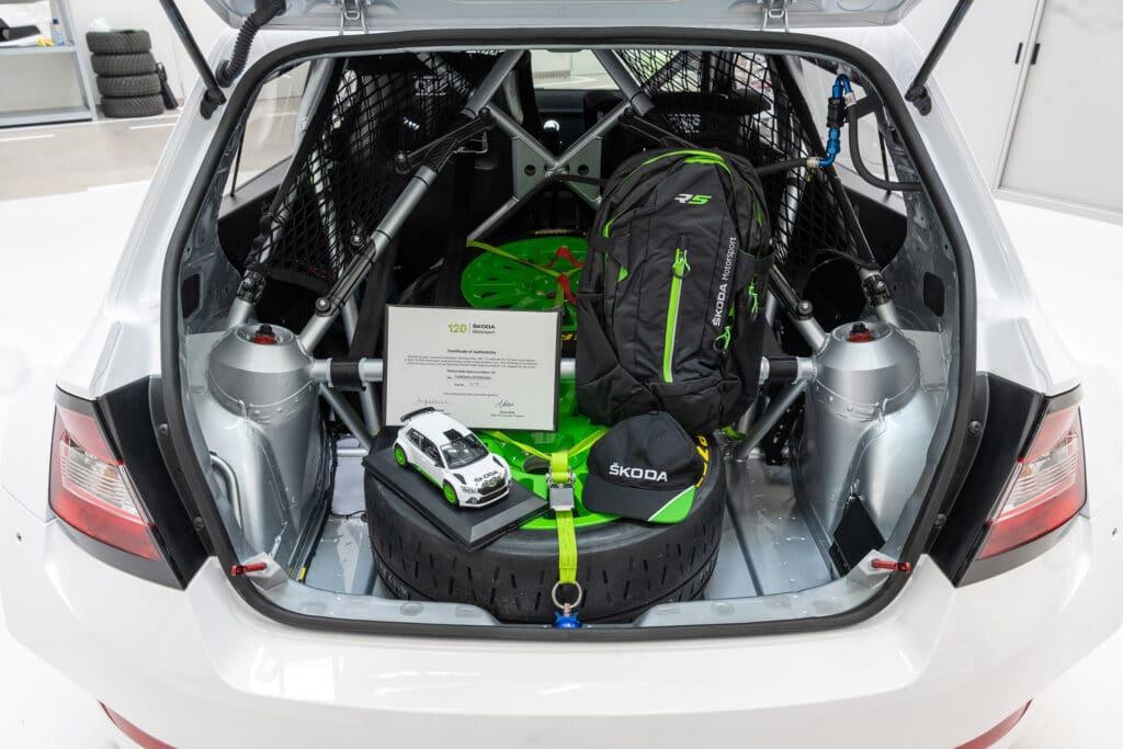Retro Skoda Fabia Rally2 Evo Edition 120