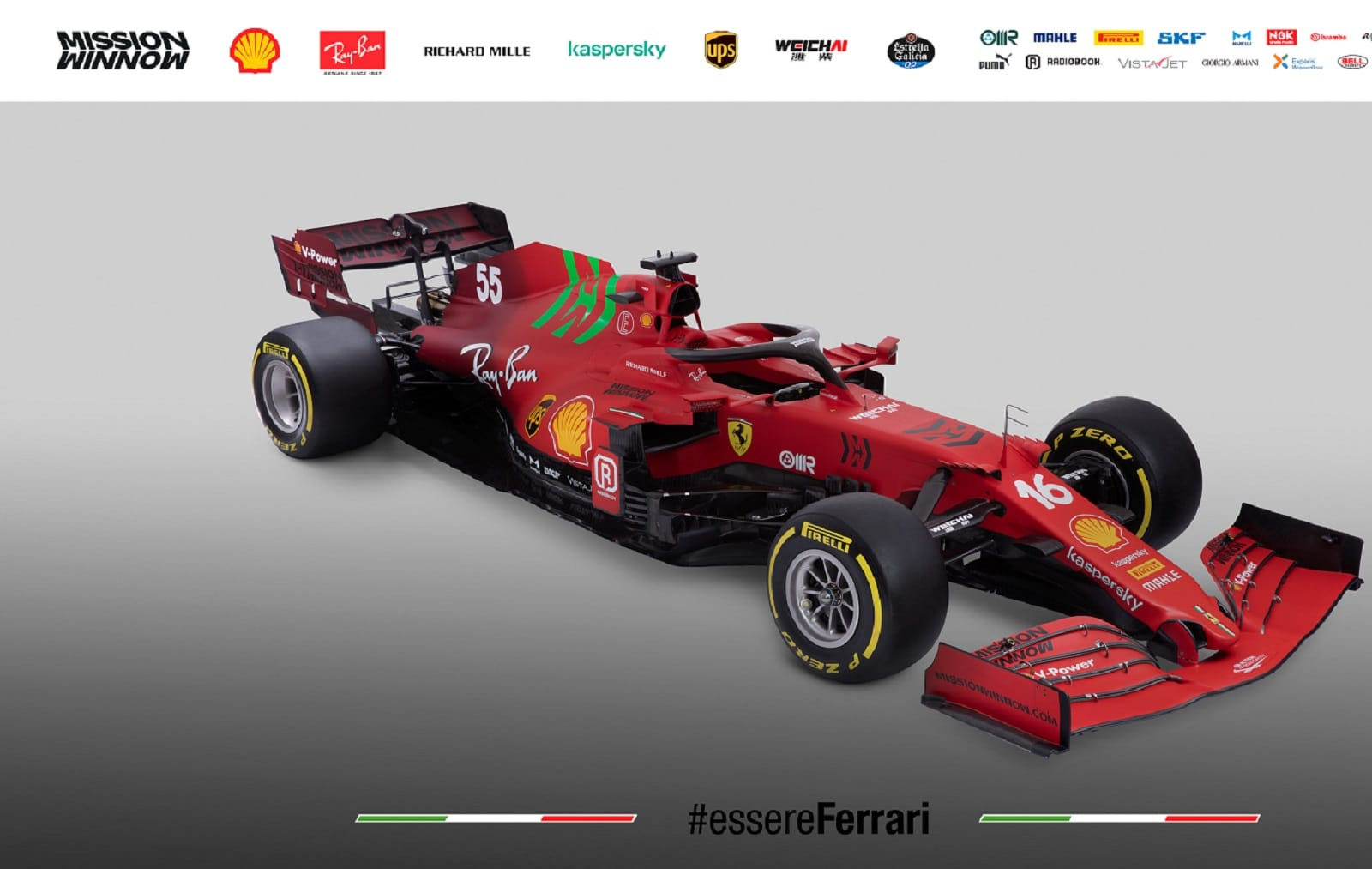 """Ferrari F1 2021: ecco la SF21, la nuova monoposto dal """"doppio colore"""""""