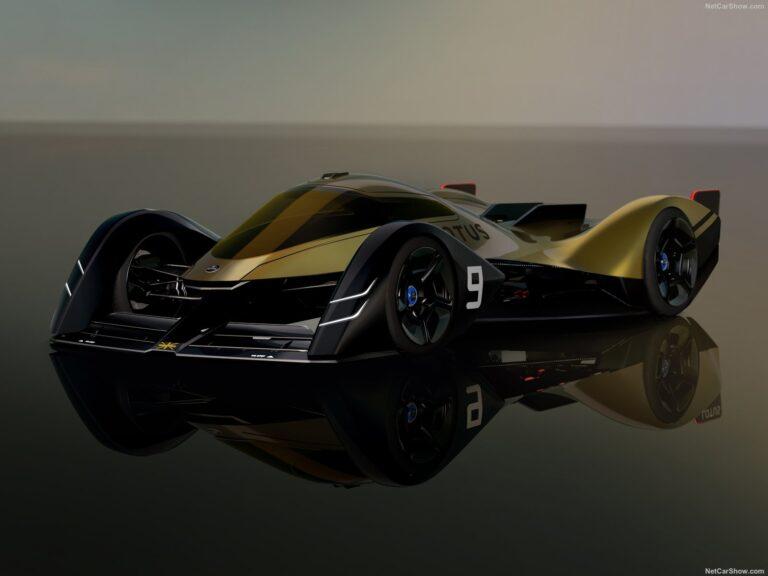 Lotus E-R9: la hypercar da corsa elettrica per Le Mans nel 2030