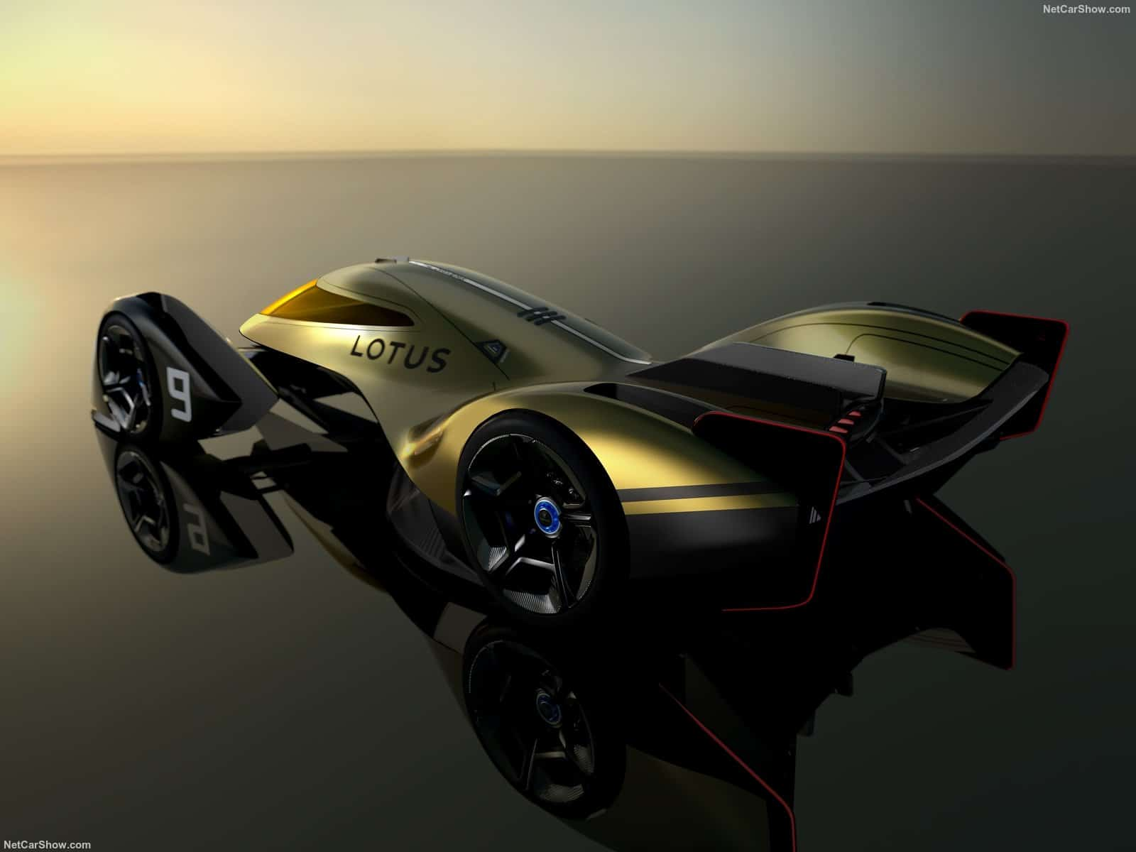 Il prototipo di auto da corsa completamente elettrico per le gare di resistenza secondo la Lotus