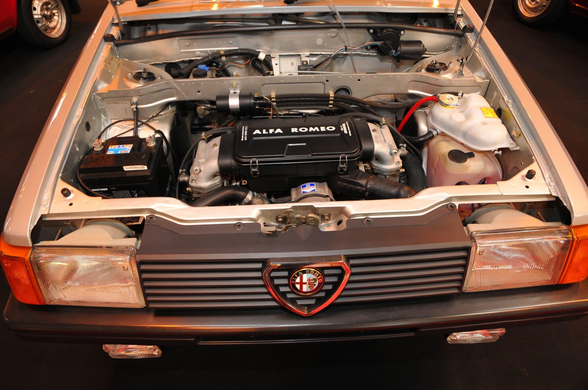 Motore Boxer Alfa Romeo