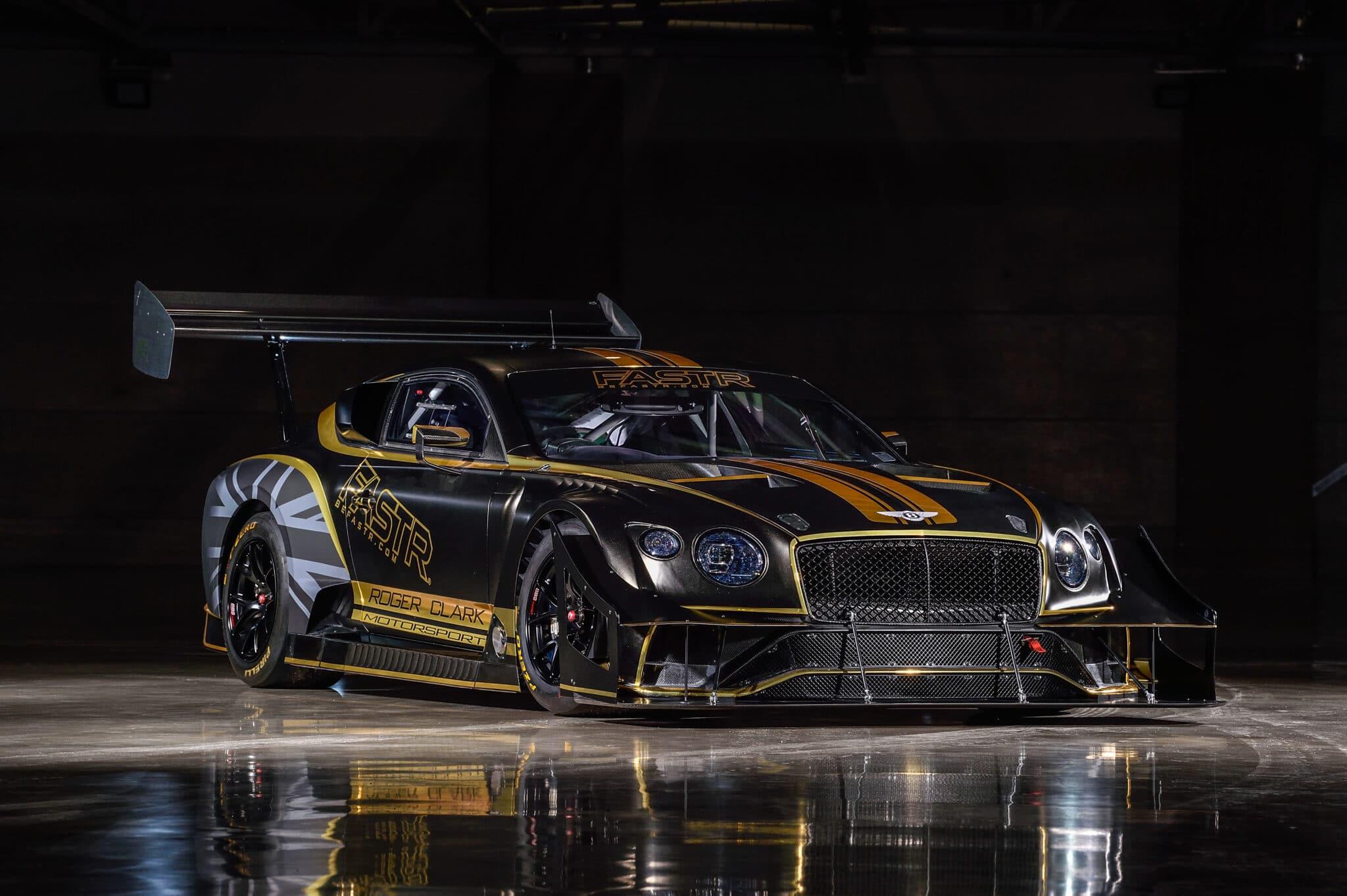 Bentley Continental GT3 Pikes Peak: la Bentley da cronoscalata alimentata con biocombustibili
