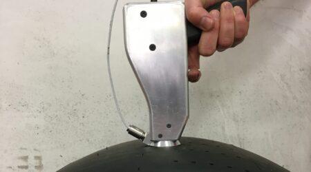 """VESevo: la """"pistola"""" realizzata da MegaRide debutta in Formula 1 per analizzare i segreti delle gomme"""