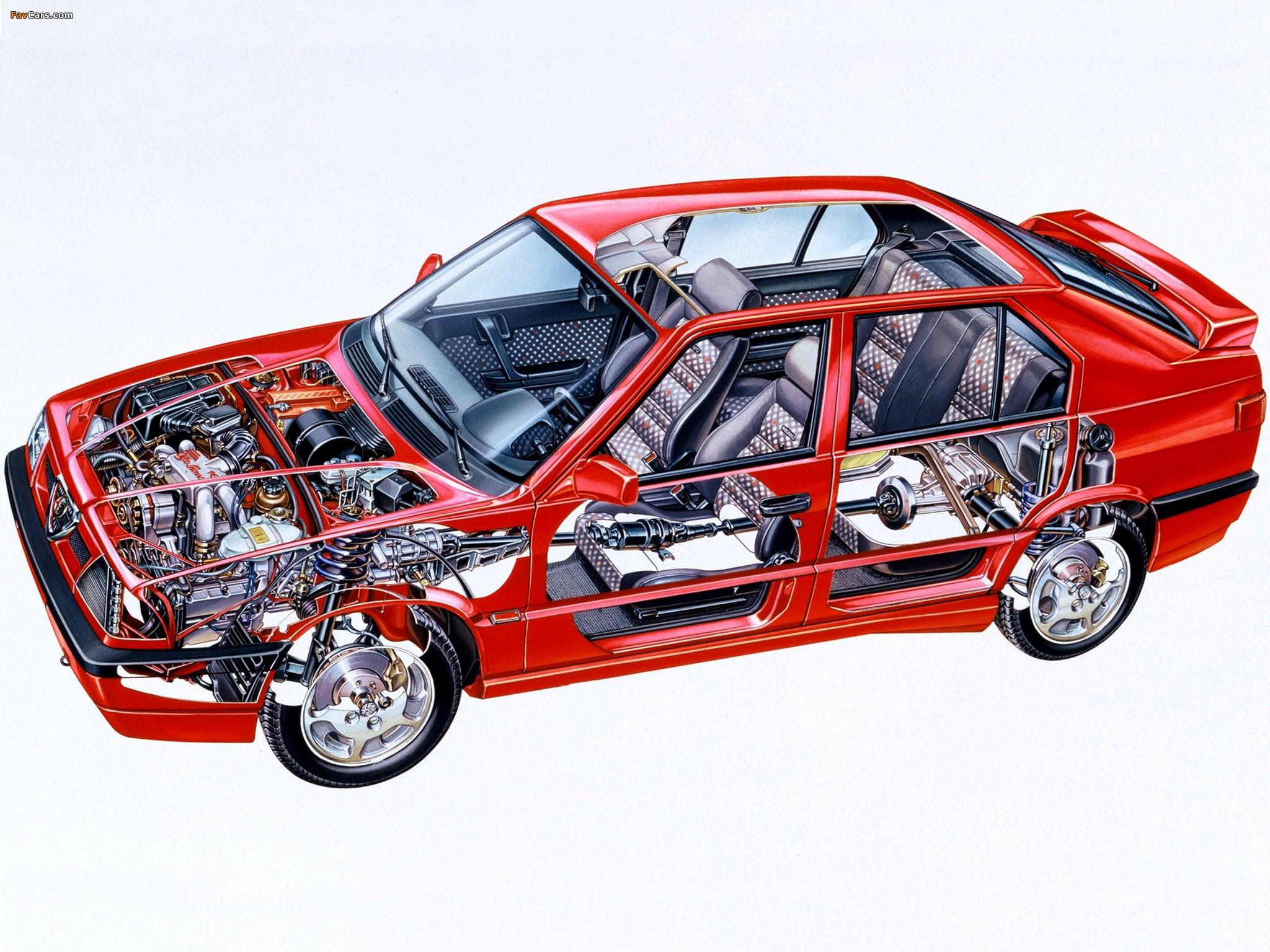 Alfa Romeo 33 Quadrifoglio Verde