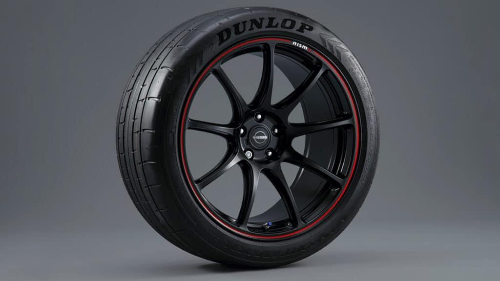 dettaglio pneumatico Dunlop