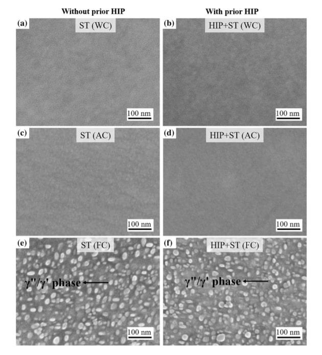 Trattamento termico - Tempra dopo solubilizzazione fase gamma