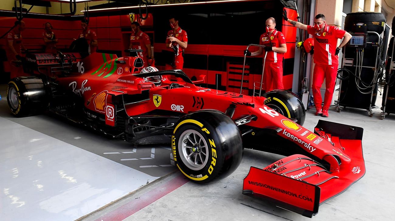 Charles Leclerc nel Gran Premio del Bahrain di Formula 1