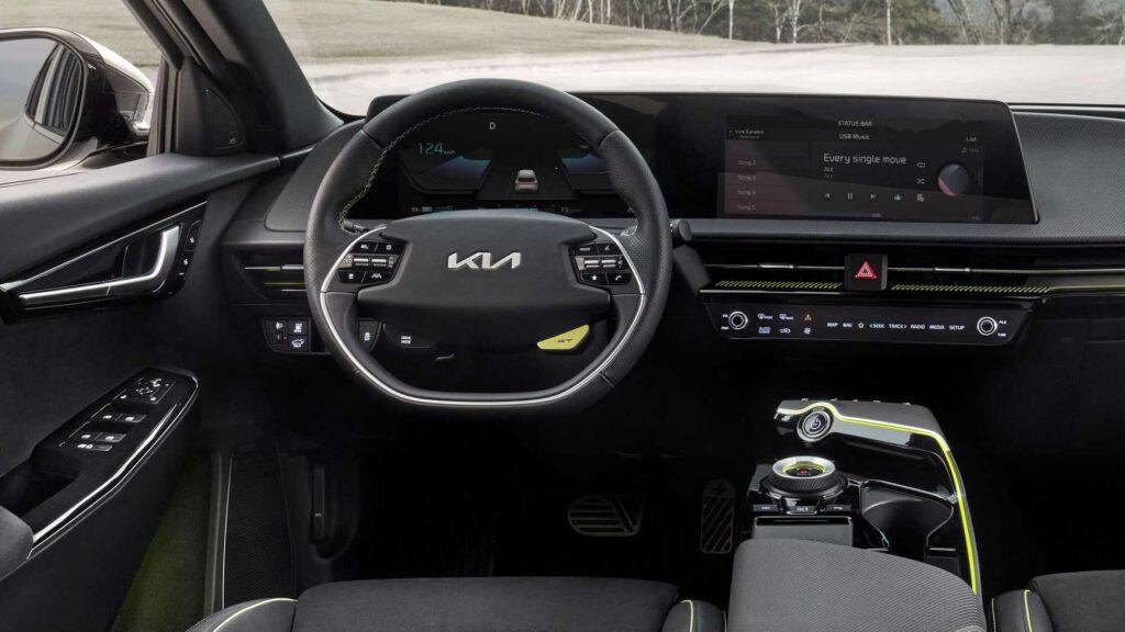 Kia EV6 GT, interno