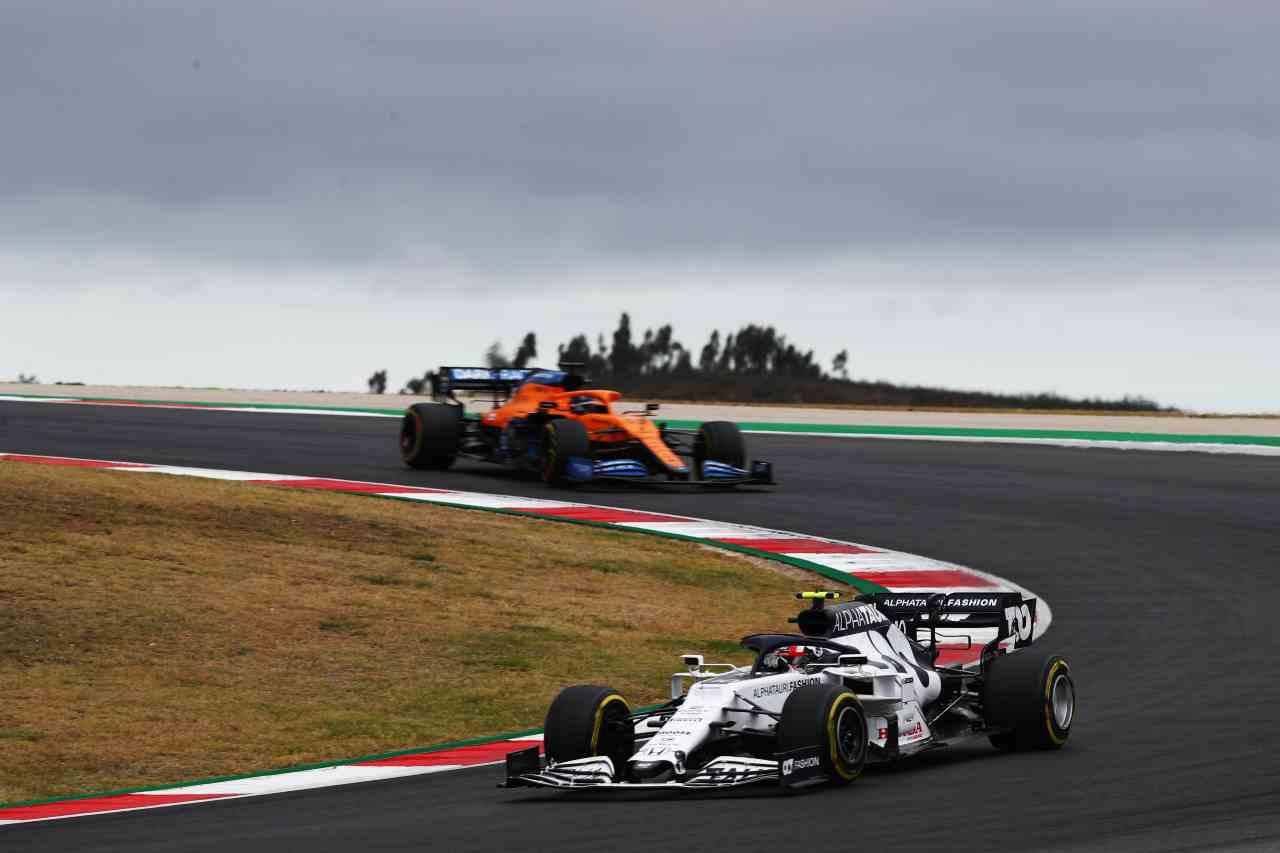 AlphaTauri e McLaren