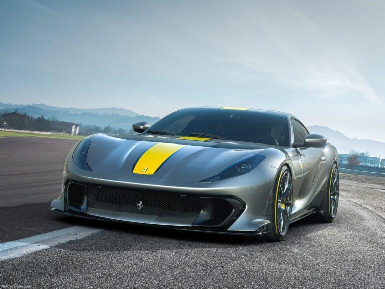 Ferrari 812 Competizione, aerodinamica