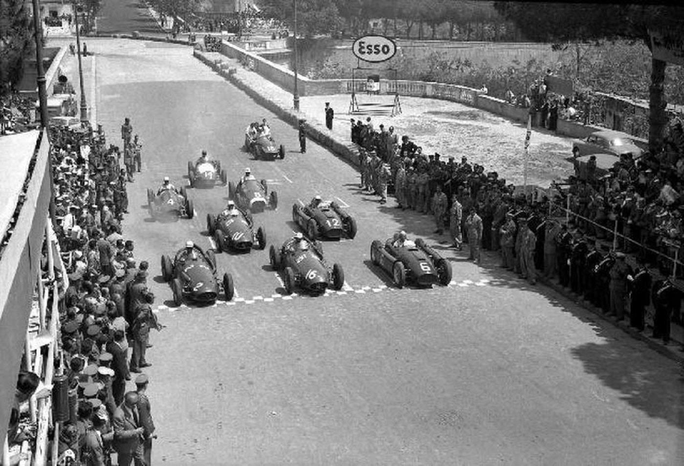 Quando la Formula 1 correva il Gran Premio di Napoli a Posillipo