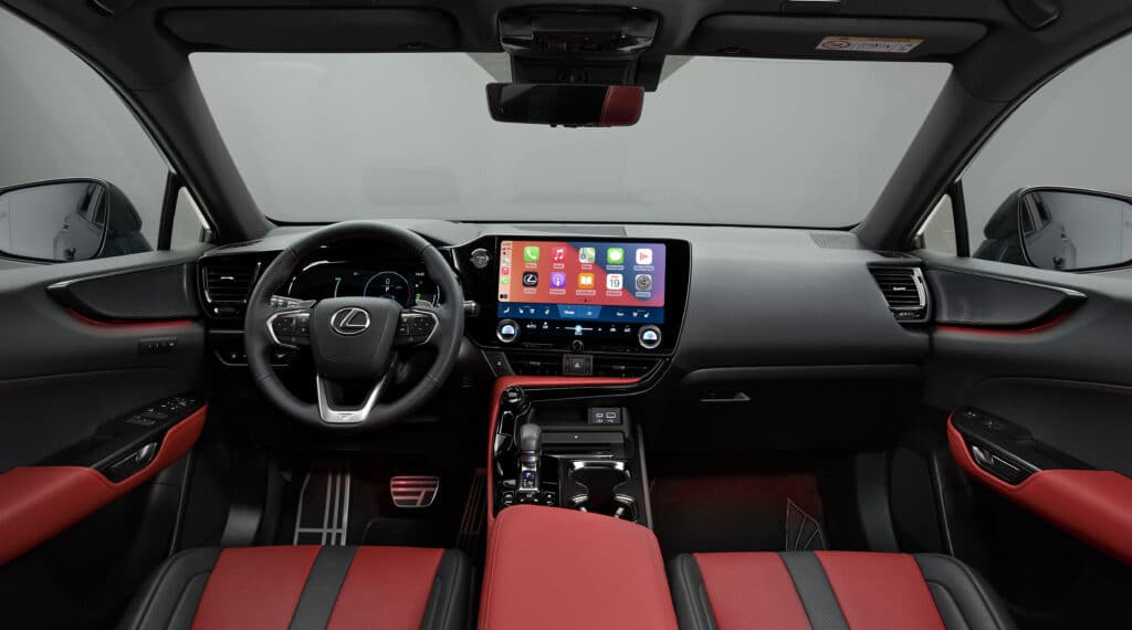 Nuova Lexus NX 2021, interni