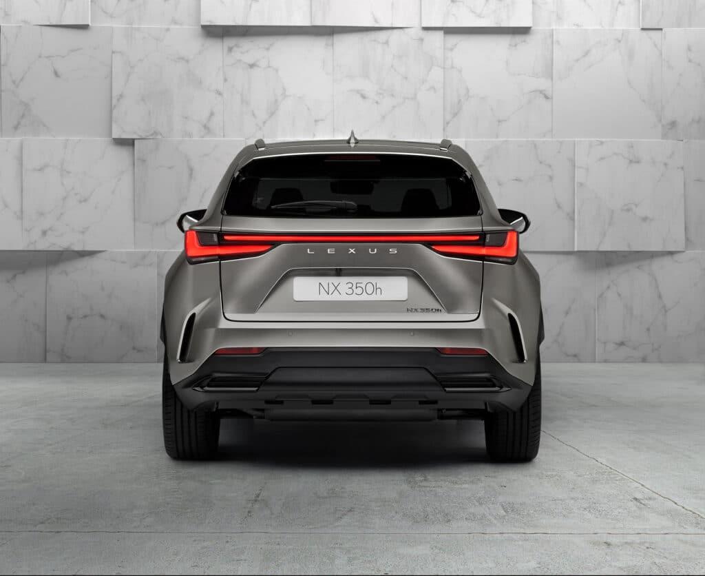 Nuova Lexus NX 350h 2021
