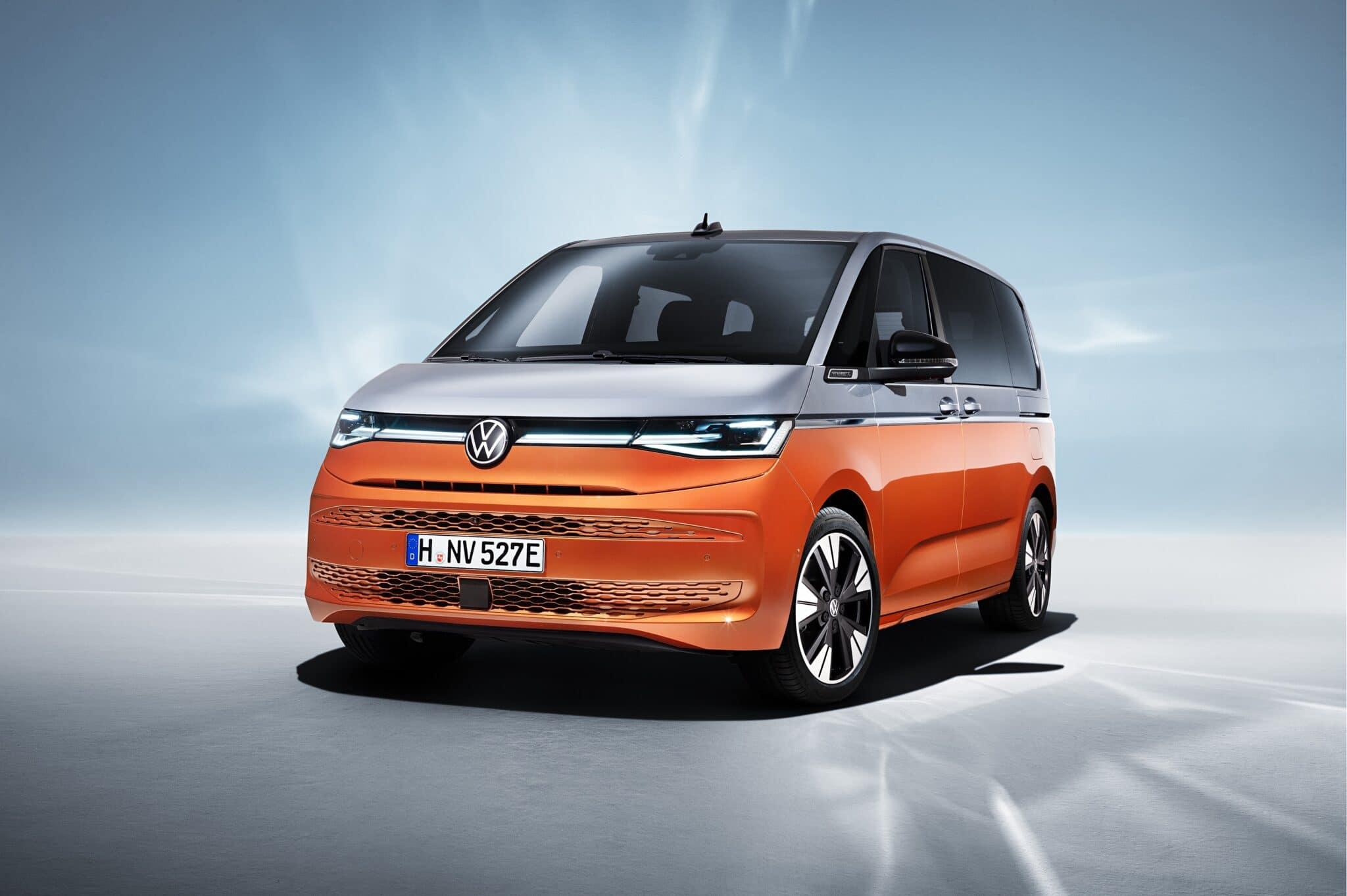 "Volkswagen Multivan: il ""pulmino"" erede della T1 con motore ibrido plug-in"
