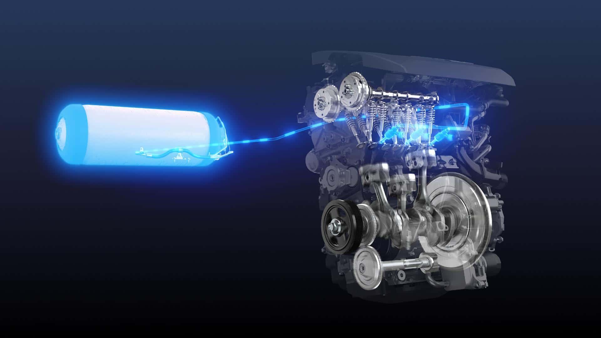 motore a idrogeno Toyota