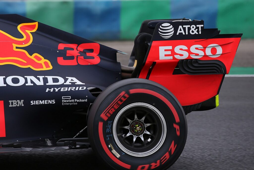 Red Bull e ali flessibili