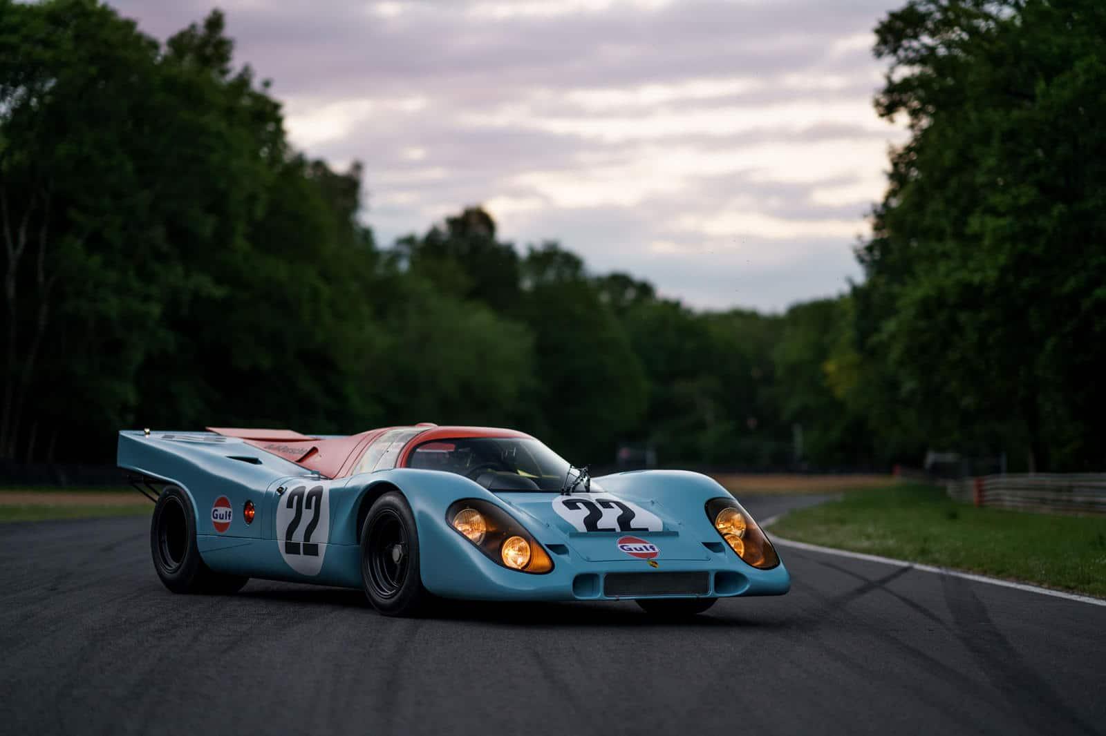 Mettere in moto una Porsche 917K una delle cose più difficili che puoi fare al mondo