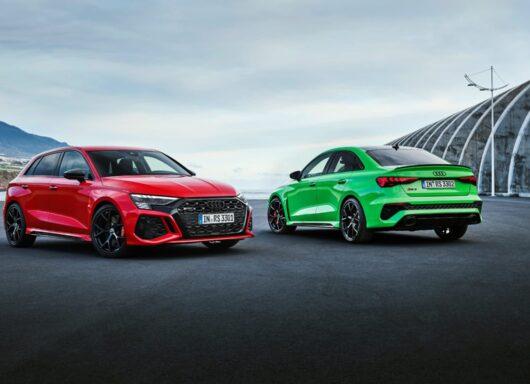 Nuova Audi RS3: motori, scheda tecnica e prezzi