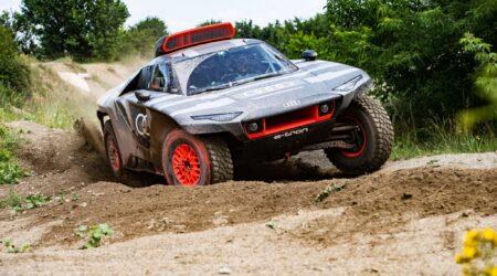 Audi RS Q e-tron: il prototipo elettrificato per la Dakar 2022