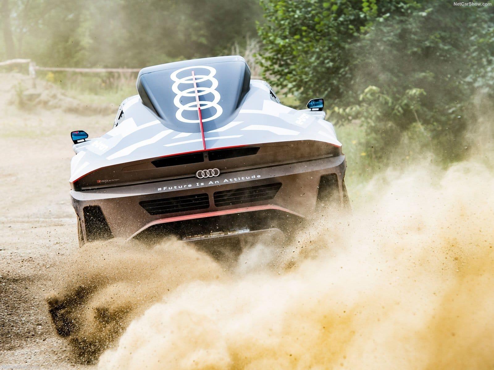 Audi RS Q e-tron - Crediti foto: ufficio stampa Audi Italia