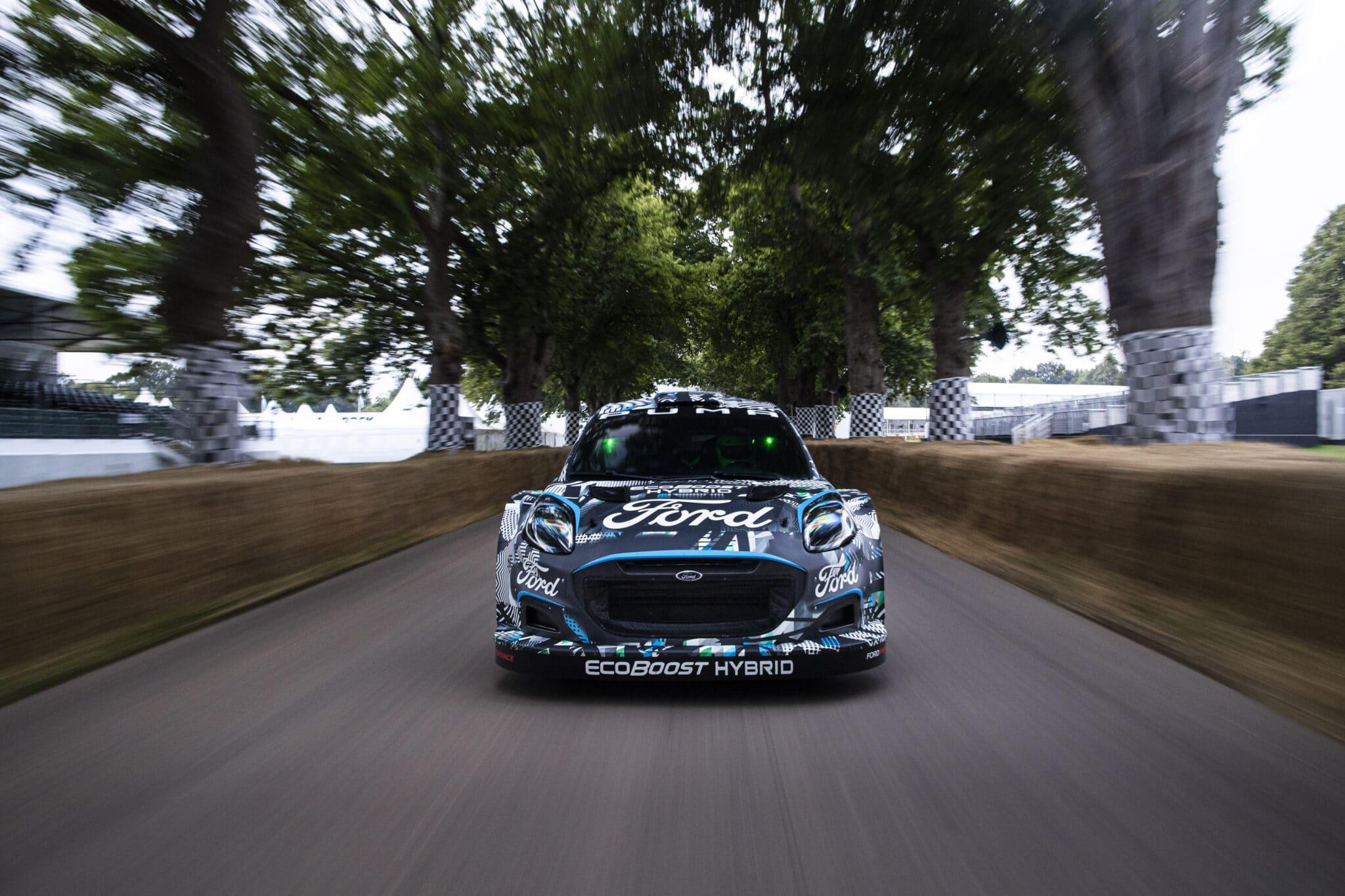 Ford Puma Rally1 - Crediti foto: ufficio stampa Ford