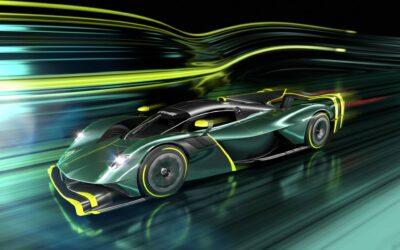 Aston Martin Valkyrie AMR Pro: via il sistema ibrido per la versione da pista