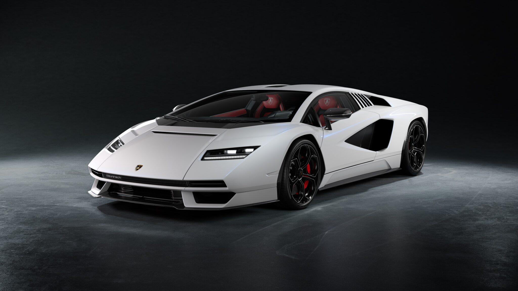 Nuova Lamborghini Countach - Crediti foto: ufficio stampa Lamborghini