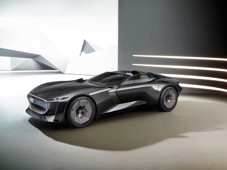 "Audi Skysphere Concept: l'elettrica a ""lunghezza variabile"" da oltre 600 cv"