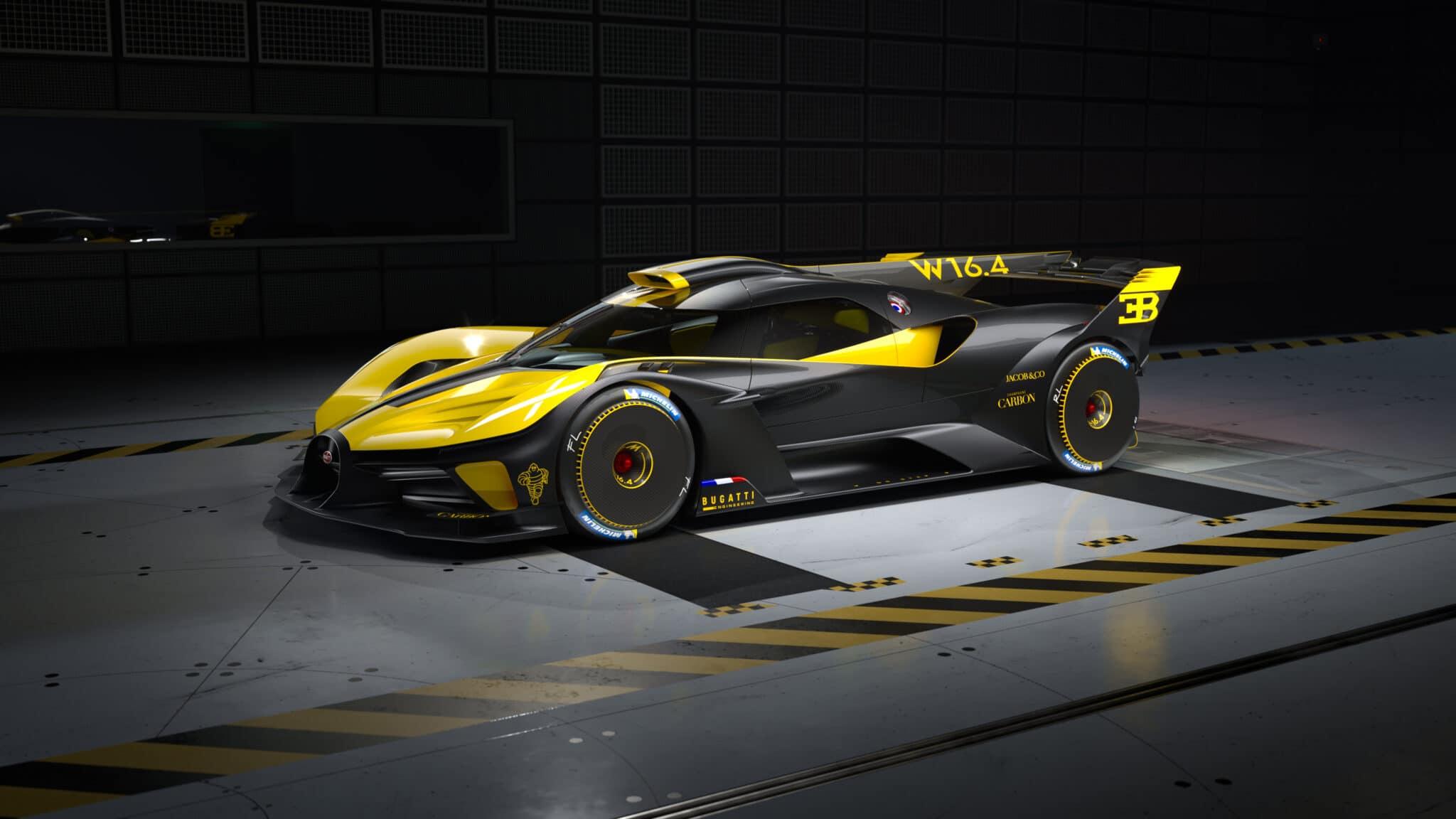 Bugatti Bolide: arriva la versione di produzione dal costo di 4 milioni di euro