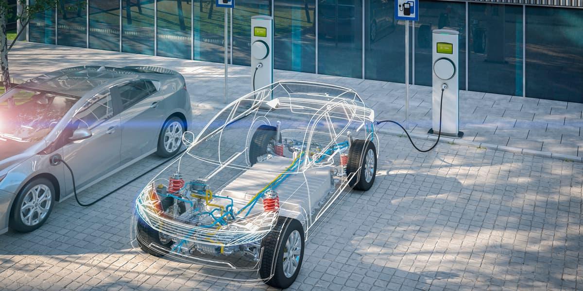 Ricaricare un'auto elettrica