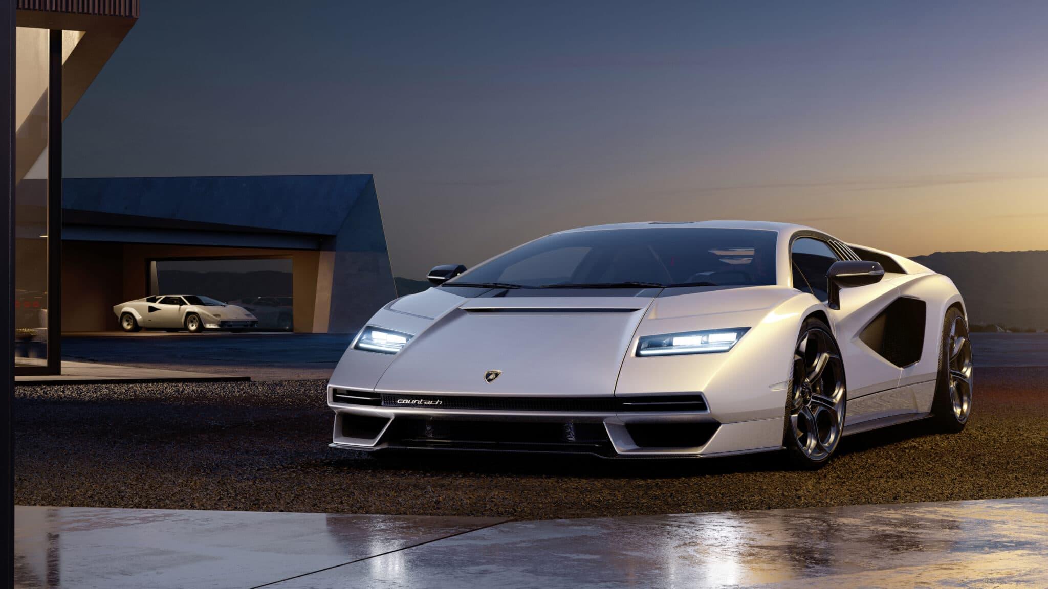 Nuova Lamborghini Countach: il ritorno del mito con il V12 (ibrido)
