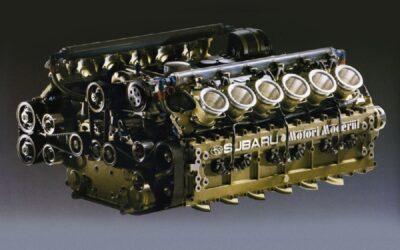 Quella volta che Subaru costruì un boxer 12 cilindri da Formula 1