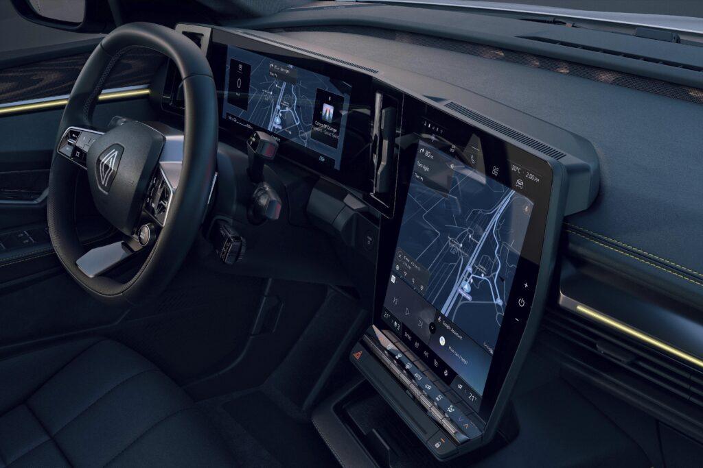 Renault Mégane E-Tech Electric, interni
