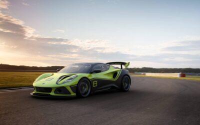 Lotus Emira GT4: l'ultima auto da corsa Lotus con motore endotermico