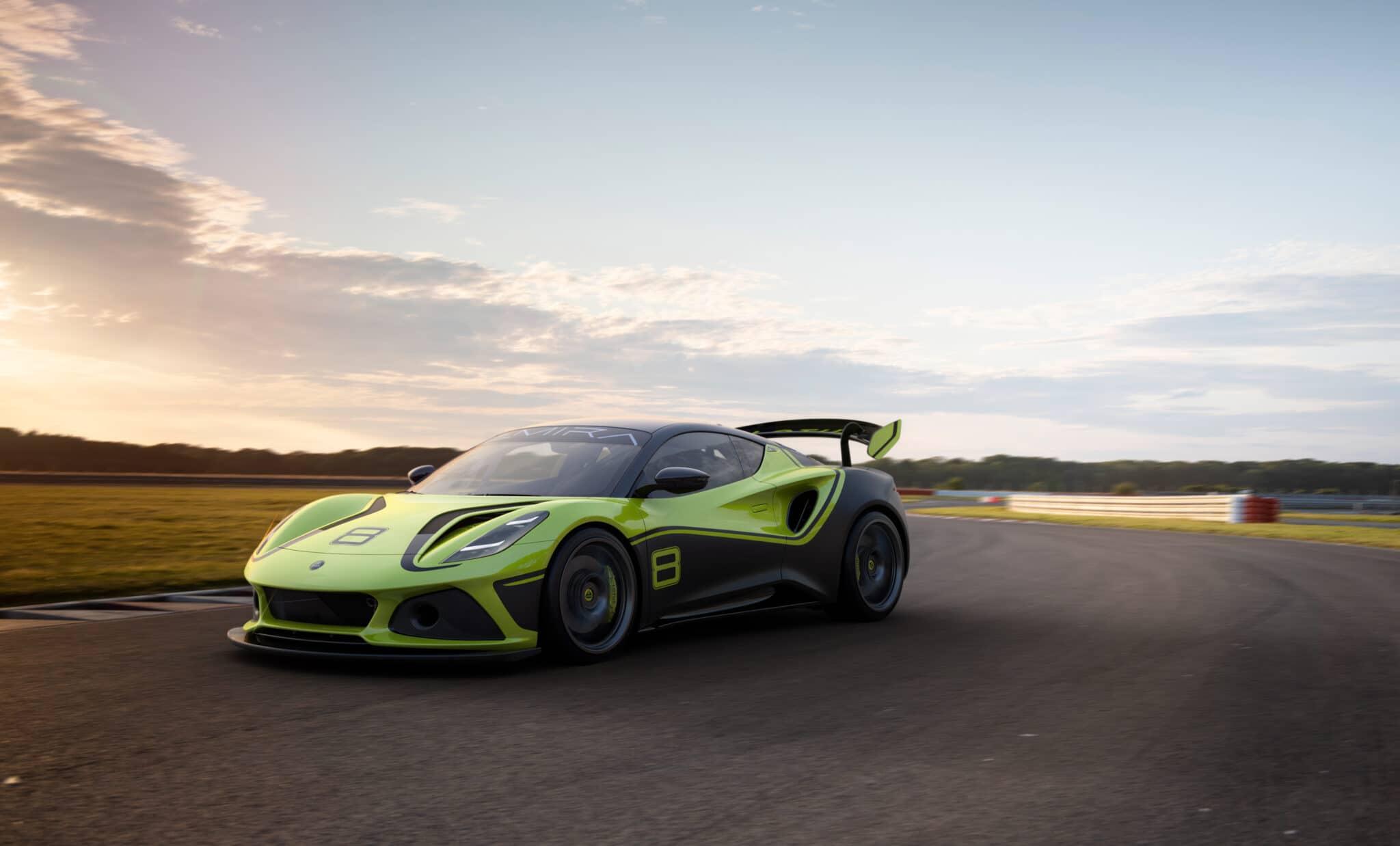 Lotus Emira GT4: l'ultima auto da corsa Lotus con motore termico