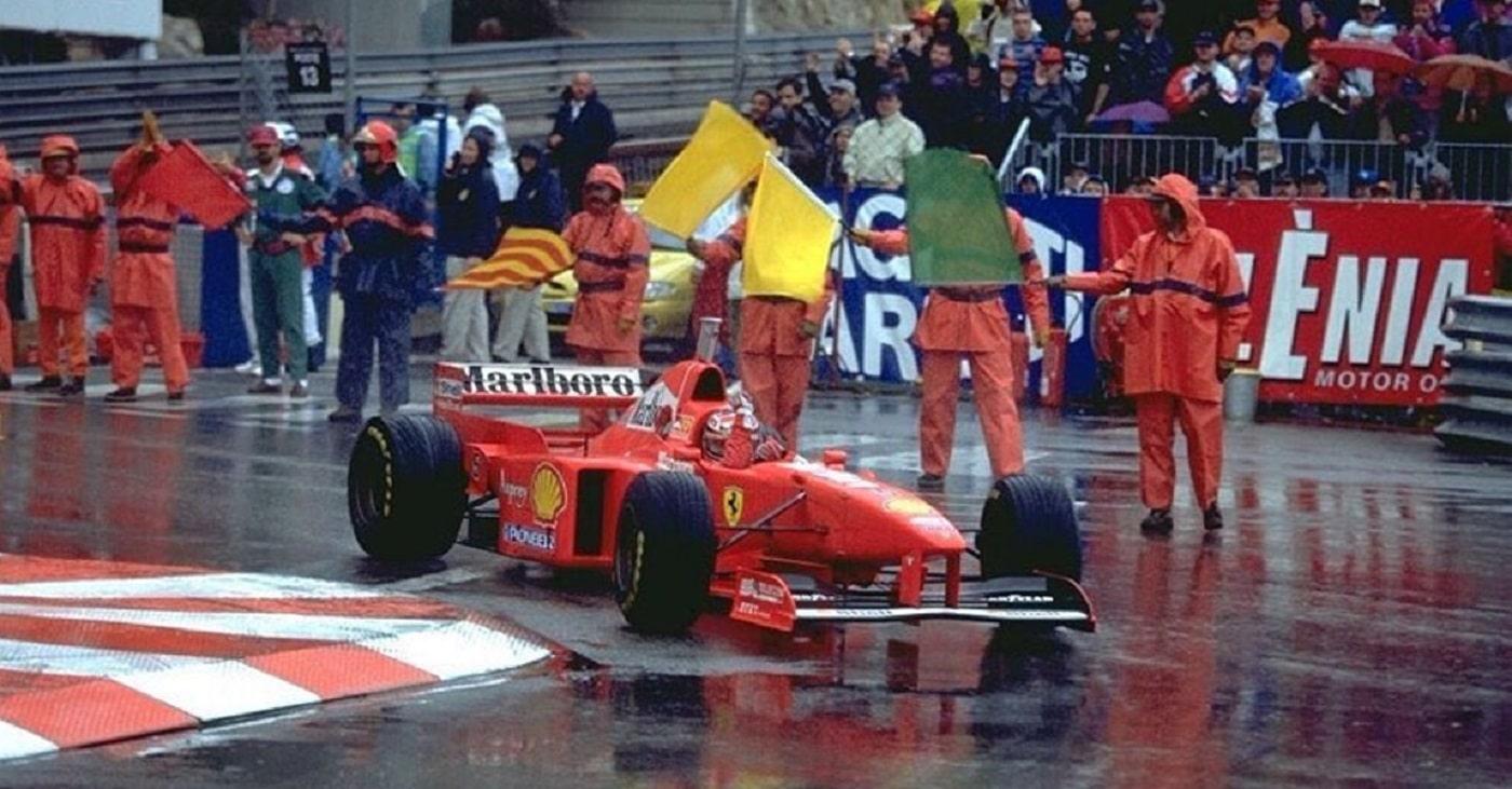 Schumacher a Monaco