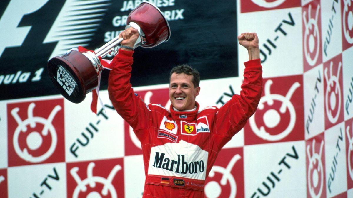 Michael Schumacher Suzuka 2000